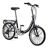 Schwinn Loop Adult Folding Bike, 20-inch Wheels, 7-Speed Drivetrain, Rear...