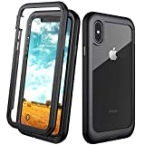 Eonfine for iPhone X Case,for iPhone Xs Case, Built-in Screen Protector...